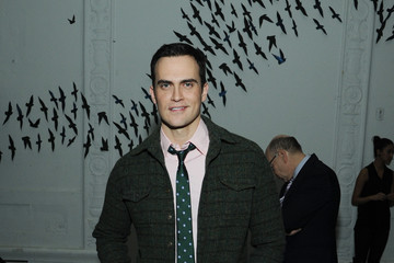 Cheyenne Jackson Michael Bastian - Front Row - Fall 2013 Mercedes-Benz Fashion Week