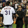 Mike Piazza Chicago Cubs v New York Mets