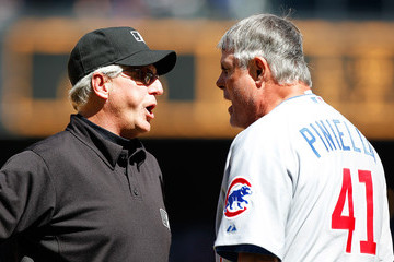 Lou Piniella Chicago Cubs  v Seattle Mariners