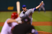 Jon Lester #34 of the Chicago Cubs pitches against the St. Louis Cardinals in the second inning at Busch Stadium on September 25, 2017 in St. Louis, Missouri.