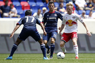 Dax McCarty Chicago Fire v New York Red Bulls