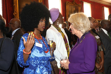 Chidera Eggerue The Prince Of Wales And The Duchess Of Cornwall Gambia, Ghana And Nigeria Reception