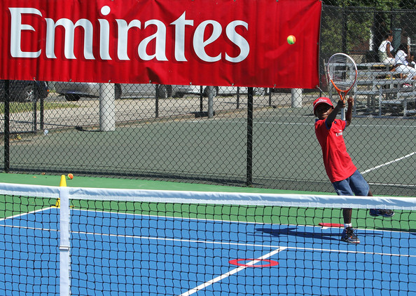 Emirates Returns Court Refurbishment Dedication