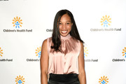 Allyson Felix attends the Children's Health Fund Annual Benefit 2019 on June 05, 2019 in New York City.