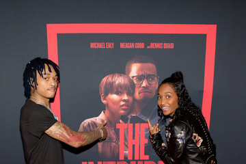 Chilli 'The Intruder' Atlanta Red Carpet Screening With Michael Ealy, Meagan Good, And Deon Taylor At Regal Atlantic Station