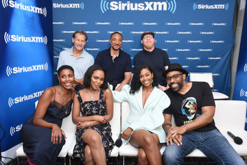 China Anne Mcclain Nafessa Williams SiriusXM's Entertainment Weekly Radio Broadcasts Live From Comic Con in San Diego