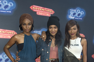 China Anne Mcclain Premiere Of 100th Disney Channel Original Movie 'Adventures In Babysitting'