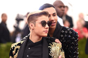 Justin Bieber and Olivier Rousteing Photos Photo