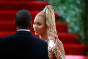 """Jay -Z and Beyonce  attend """"China: Through The Looking Glass"""" Costume Institute Benefit Gala  at Metropolitan Museum of Art on May 4, 2015 in New York City."""