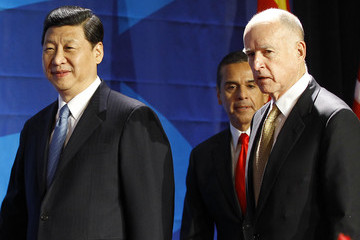 Jerry Brown Antonio Villaraigosa Chinese Vice President Xi Jinping Visits California