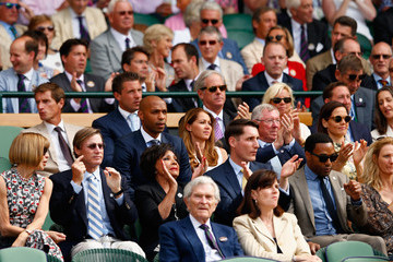 Chiwetel Ejiofor Day Eleven: The Championships - Wimbledon 2015
