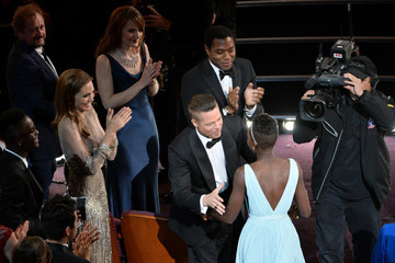 Chiwetel Ejiofor Lupita Nyong'o 86th Annual Academy Awards Show