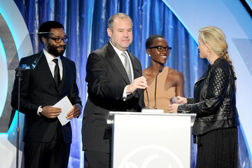 Chiwetel Ejiofor Lupita Nyong'o 25th Annual Producers Guild of America Awards