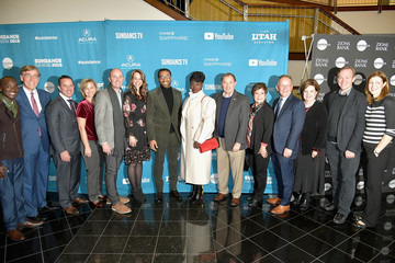 Chiwetel Ejiofor Maxwell Simba 2019 Sundance Film Festival - Salt Lake Opening Night Screening Of 'The Boy Who Harnessed The Wind' Presented By Zions Bank