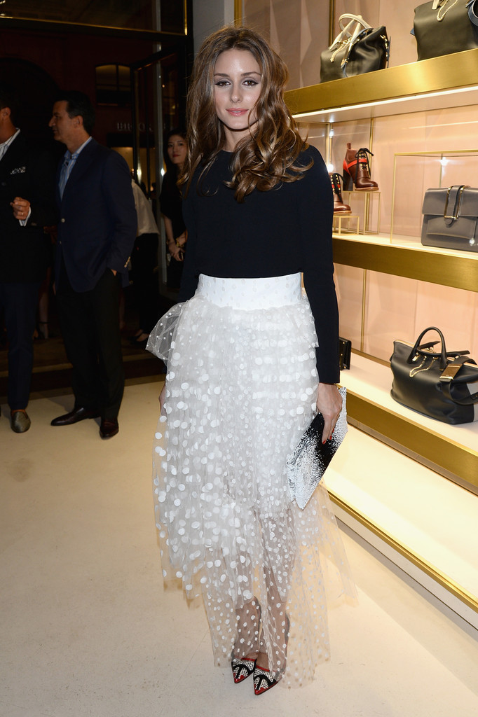 Olivia Palermo In 39 Chloe Attitudes 39 Book Launch In Paris Zimbio
