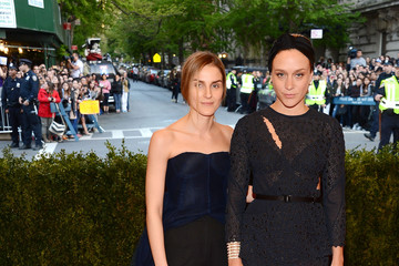 Chloe Sevigny Phoebe Philo Red Carpet Arrivals at the Met Gala