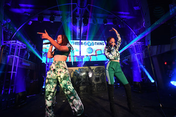 Chloe X Halle AT&T's (404) Code Day