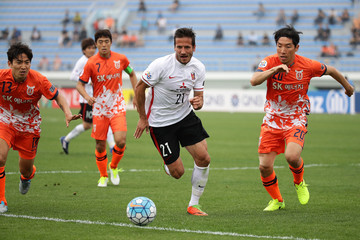 Cho Yong-Hyung Jeju United FC  v Urawa Red Diamonds - AFC Champions League Round Of 16