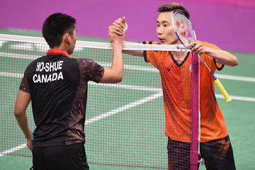 Chong Wei Lee Badminton - Commonwealth Games Day 2