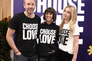 Chris O'Dowd, Dawn O'Porter and Annabelle Wallis attend Choose Love Launches In Los Angeles On Giving Tuesday on December 3, 2019 in Los Angeles, California.
