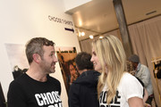 Chris O'Dowd and Annabelle Wallis attend Choose Love Launches In Los Angeles On Giving Tuesday on December 3, 2019 in Los Angeles, California.
