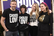 Chris O'Dowd, Dawn O'Porter, Annabelle Wallis and Josie Naughton attend Choose Love Launches In Los Angeles On Giving Tuesday on December 3, 2019 in Los Angeles, California.