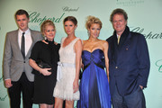 Barron Nicholas Hilton,  Kathy Hilton, Nicky Hilton, Paris Hilton and Rick Hilton attend the Chopard 150th Anniversary Party at Palm Beach, Pointe Croisette during the 63rd Annual Cannes Film Festival on May 17, 2010 in Cannes, France.