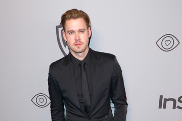 Chord Overstreet The 2018 InStyle and Warner Bros. 75th Annual Golden Globe Awards Post-Party - Red Carpet