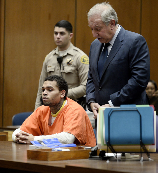 Chris Brown - Chris Brown's Court Appearance