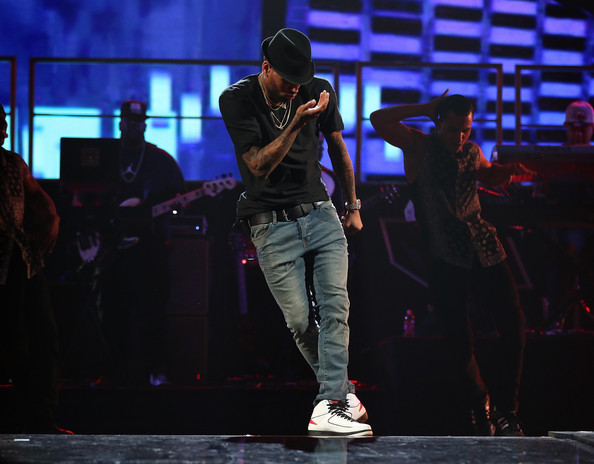 Chris Brown - iHeartRadio Music Festival - Day 1 - Show