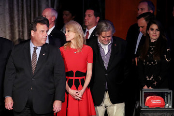 Chris Christie Republican Presidential Nominee Donald Trump Holds Election Night Event In New York City