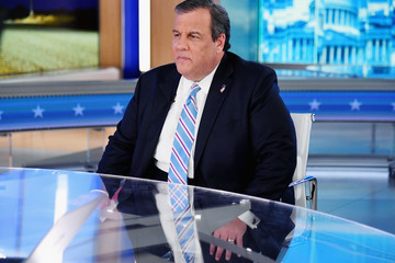Chris Christie Former Governor Of New Jersey Chris Christie Visits 'The Daily Briefing With Dana Perino'
