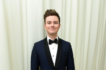 Chris Colfer 26th Annual Elton John AIDS Foundation Academy Awards Viewing Party With Cocktails by Clase Azul Tequila