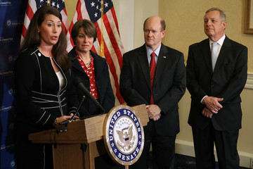 Chris Coons Senators Klobuchar, Durbin, and Coons Discuss Presidential Advisory Commission on Election Integrity