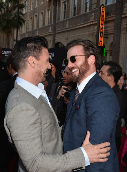 Chris Evans and Frank ...