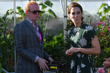 Chris Evans Members of the Royal Family Visit the RHS Chelsea Flower Show