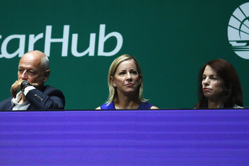 Chris Evert BNP Paribas WTA Finals Singapore Presented by SC Global - Day 7