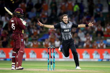 Chris Gayle New Zealand v West Indies - 3rd T20