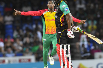 Chris Gayle St Kitts & Nevis Patriots vs. Guyana Amazon Warriors - 2018 Hero Caribbean Premier League (CPL) Tournament