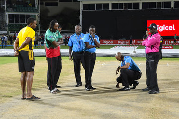 Chris Gayle St Kitts & Nevis Patriots v St Lucia Stars - 2018 Hero Caribbean Premier League (CPL) Tournament