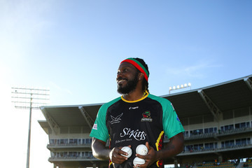 Chris Gayle Jamaica Tallawahs vs. St Kitts & Nevis Patriots - 2018 Hero Caribbean Premier League (CPL) Tournament