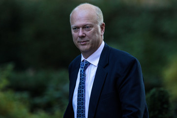 Chris Grayling Government Ministers Attend Cabinet After Conference Season Recess