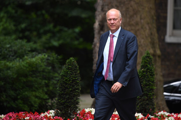 Chris Grayling Ministers Attend Cabinet Meeting At Downing Street