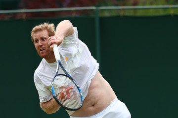 Chris Guccione Day Four: The Championships - Wimbledon 2016