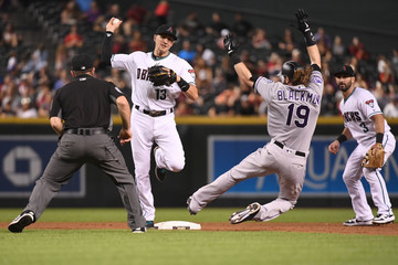 Chris Guccione Colorado Rockies v Arizona Diamondbacks