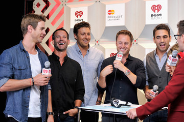 Chris Harrison 2014 iHeartRadio Music Festival - Night 1 - Backstage