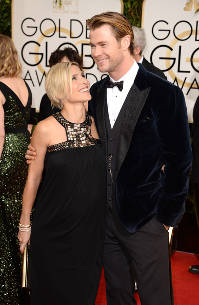 Chris Hemsworth - 71st Annual Golden Globe Awards - Arrivals