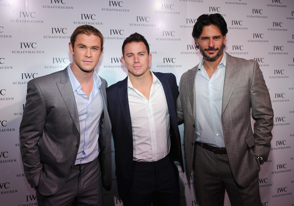 [Image: Chris+Hemsworth+Joe+Manganiello+IWC+Flag...c2fxOl.jpg]