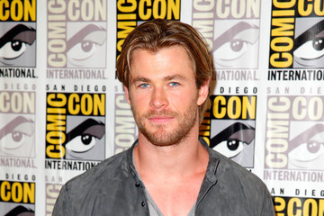 "Chris Hemsworth Marvel's Hall H Press Line For ""Ant-Man"" And ""Avengers: Age Of Ultron"""