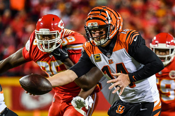 Chris Jones Cincinnati Bengals vs. Kansas City Chiefs